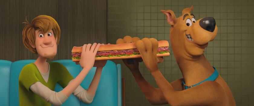 Shaggy and Scooby-Doo