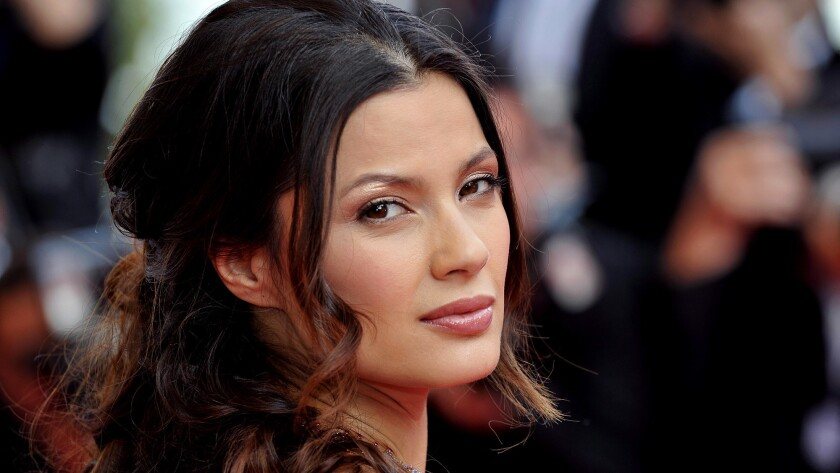 Natassia Malthe, shown in 2008, said movie producer Harvey Weinstein barged into her hotel room and forced her to have sex.
