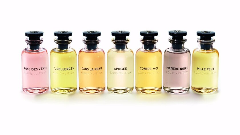 French luxury brand Louis Vuitton introduces seven new fragrances for women.