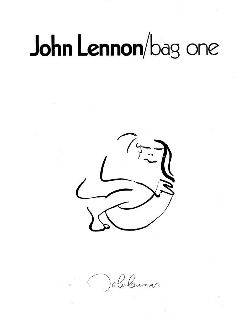 A John Lennon exhibition featuring his artwork will be on display in Del Mar.