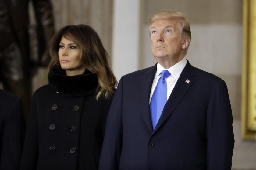 Donald, Melania Trump