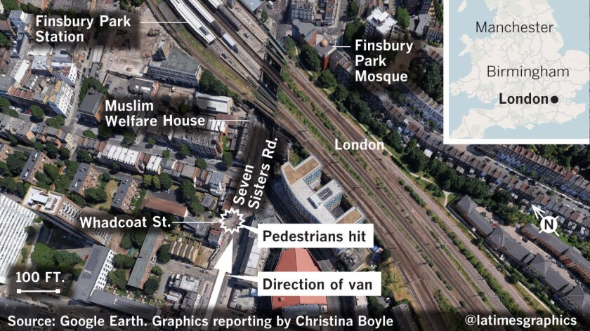 Details on the attack near the Finsbury Park Mosque in London