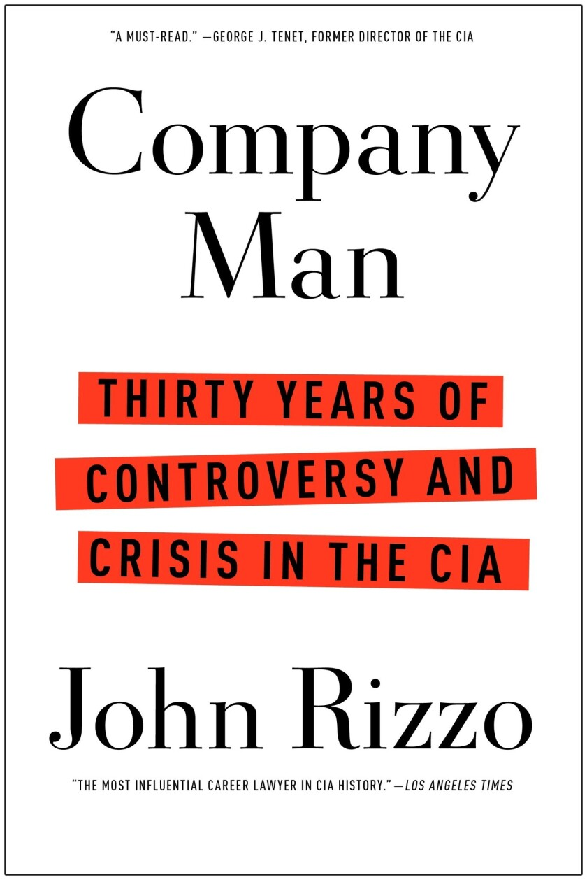 "John Rizzo says in his memoir, ""Company Man: Thirty Years of Controversy and Crisis in the CIA,"" that Hollywood stars sometimes work for the CIA."
