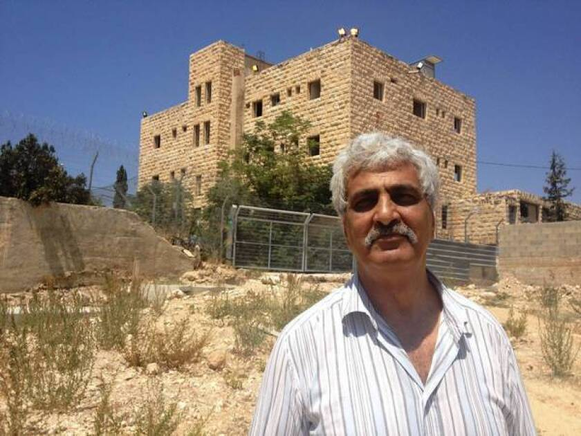 Palestinian in Kafkaesque battle over family's hotel