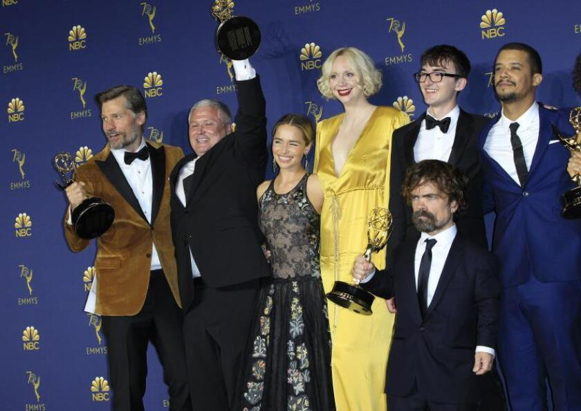 """Game of Thrones"" se despide con un atracón récord de nominaciones a los Emmy"