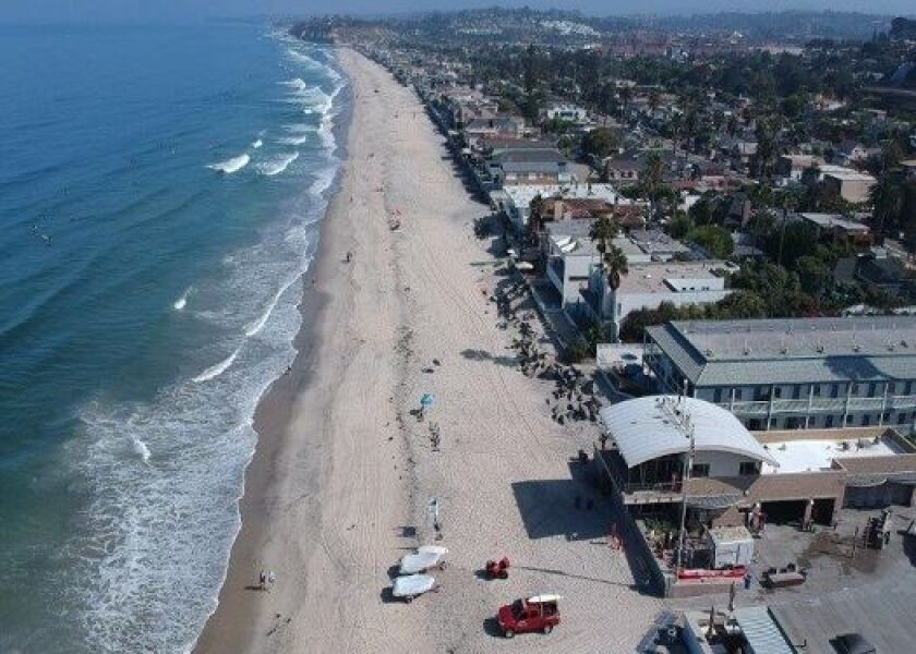 The high cost of real estate, where about 600 homes sit in a low-lying area, makes managed retreat impractical in Del Mar, residents say.