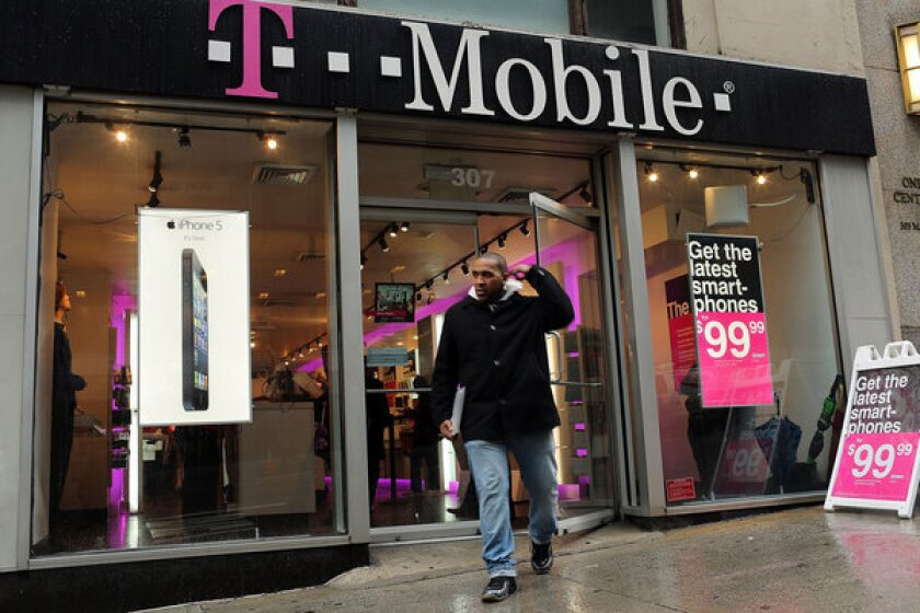 A T-Mobile store in New York.