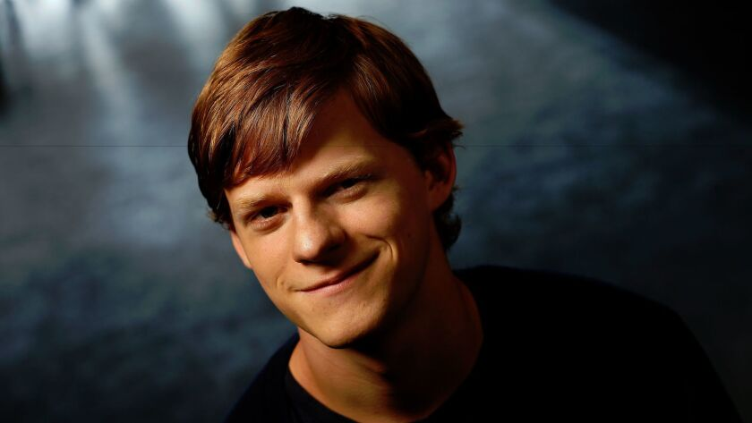 Lucas Hedges finds the lightness within the dark drama of