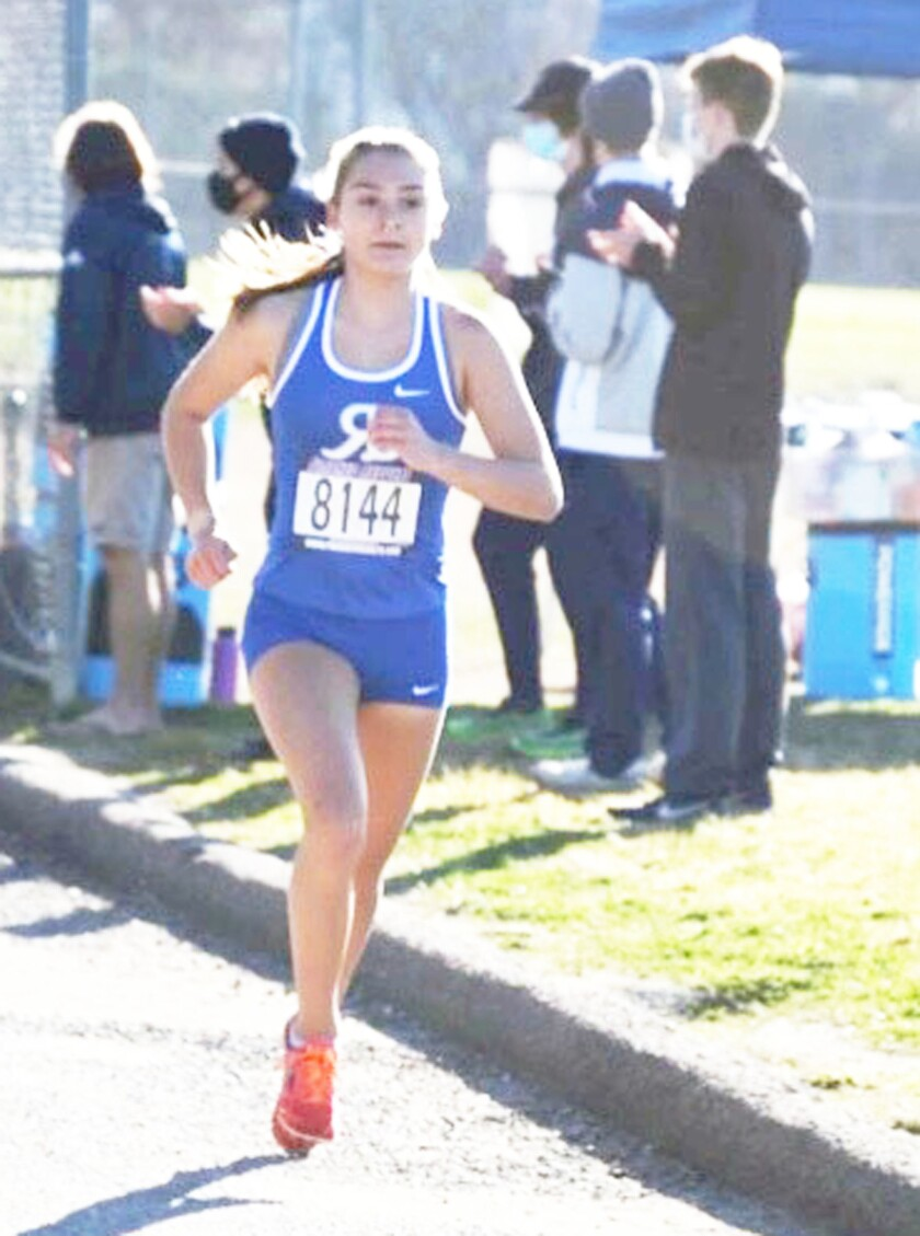 Rancho Bernardo High's Ashley Learn has won four of her five dual meet races this season.