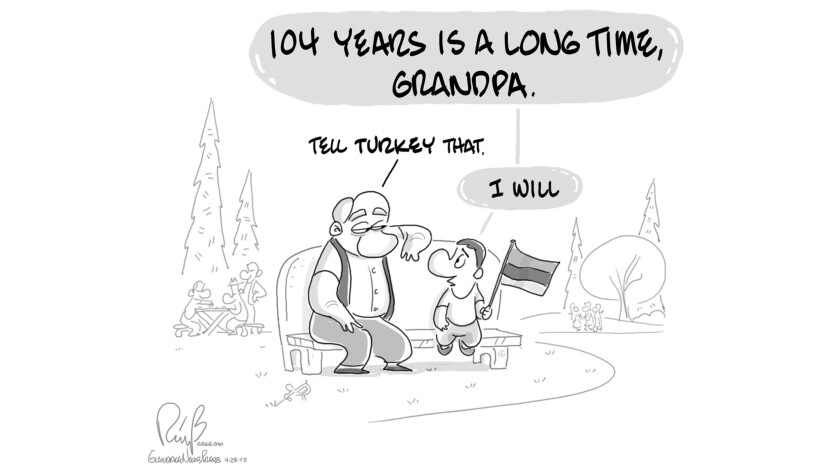 "Final cartoon "" History "" to be published in GNP on 4-27_19. (Bert Ring)"