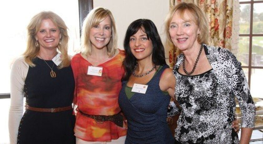 Michele Stephens, Diane Dale, Estee Gubbay, Marianne Hoffman (Photo: Jon Clark)