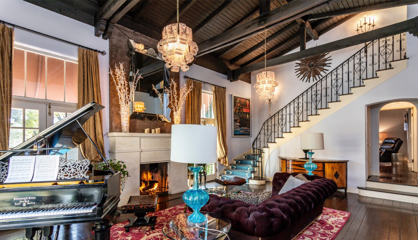 Patrick Dempsey's former Hollywood Hills home