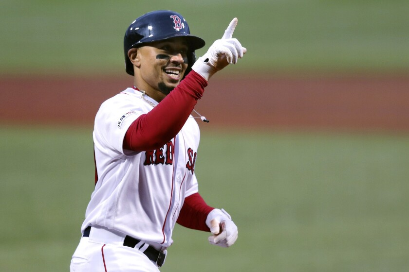 Mookie Betts' arrival in L.A. has hit a snag as the Red Sox, Twins and Dodgers seek a way to complete the blockbuster deal.