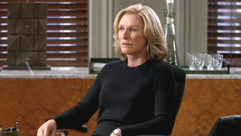 Damages –– FX TV Series, Glenn Close as stars as Patty Hewes on DAMAGES airing on Wednesday, Jan. 14
