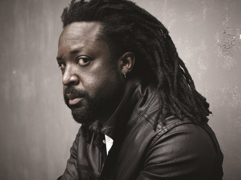 "An author photo of Marlon James for his book ""Black Leopard, Red Wolf."" Credit: Mark Seliger"