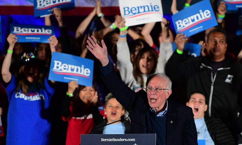 Letters to the Editor: I escaped communism. Bernie Sanders' democratic socialism isn't communism