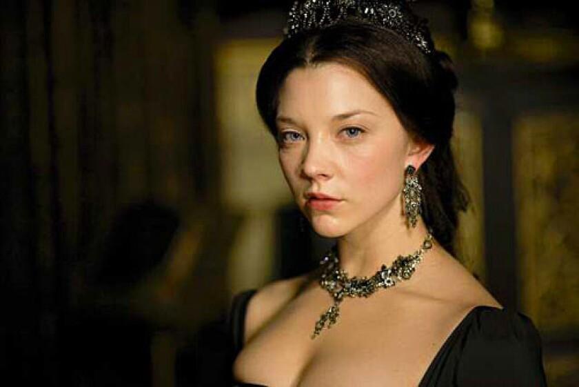 """Natalie Dormer as Anne Boleyn on """"The Tudors."""""""