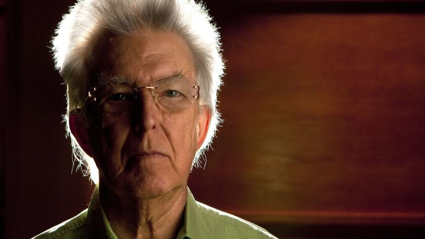 January 28, 2011- SAN DIEGO, CA- Roger Reynolds, University of California, San Diego composer in Rec