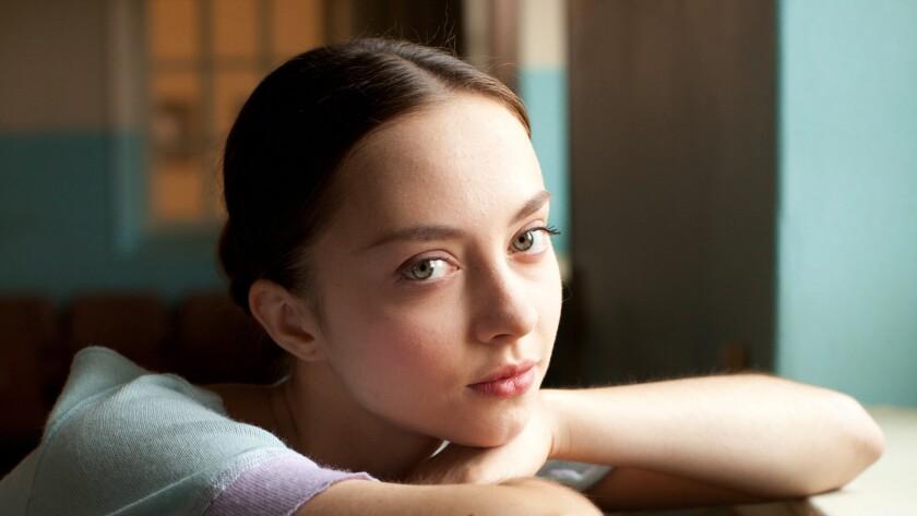 """Anastasia Shevtsova in the film """"Polina."""""""