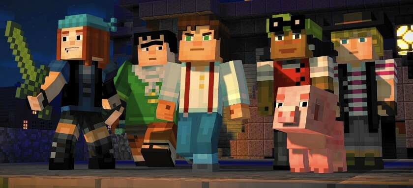 The Player: 'Minecraft: Story Mode's' adventures have familiar plots but characters worth rooting for
