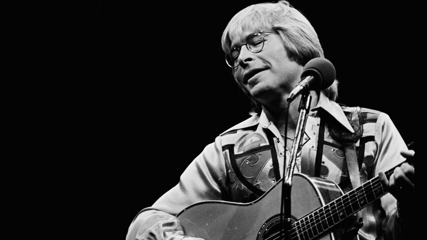 John Denver at the Inglewood Forum in 1978.