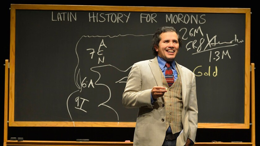 """Great Performances: John Leguizamo's Road to Broadway"" goes behind the scenes of the show ""Latin History for Morons,"" on PBS."