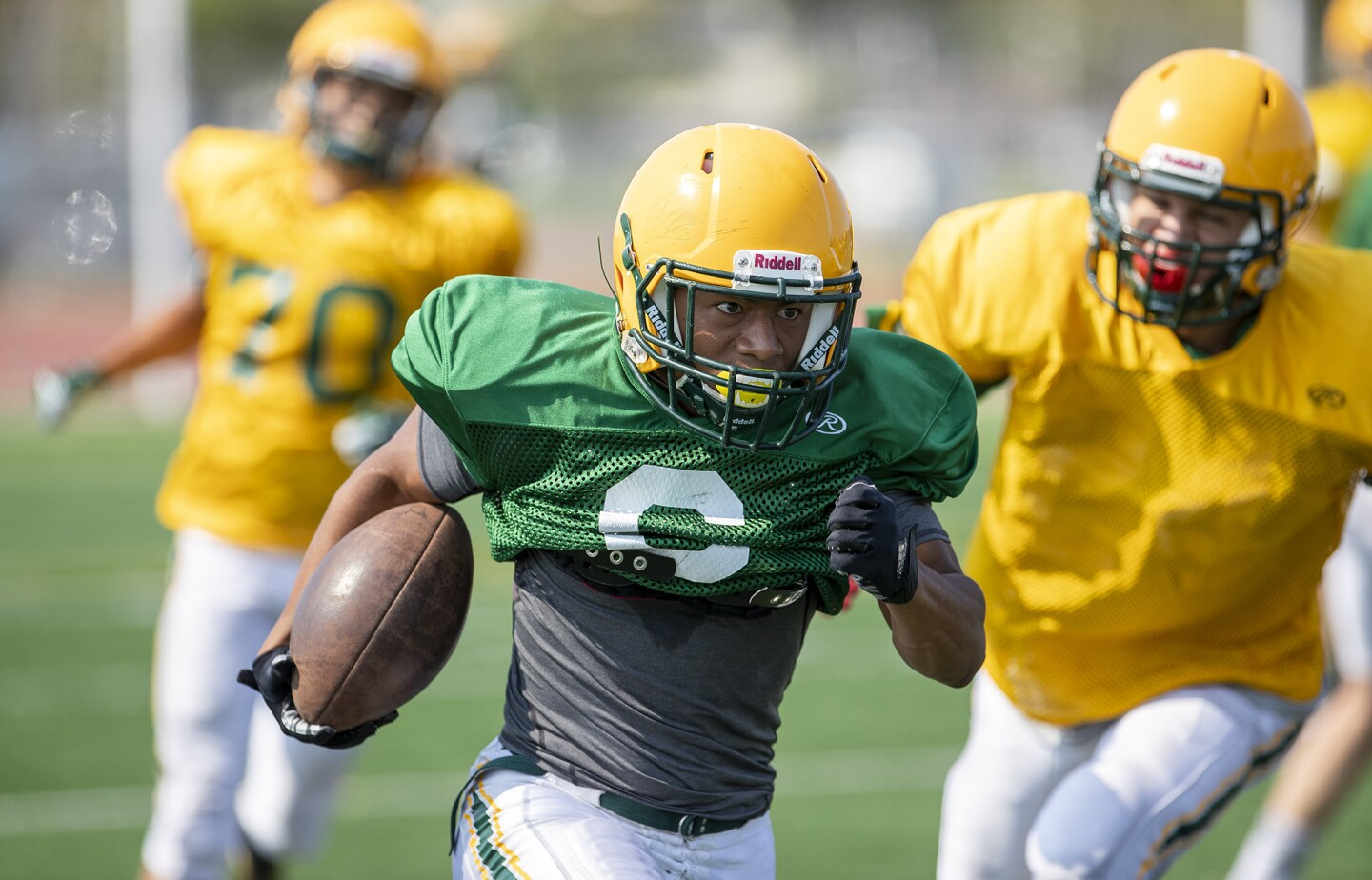 Photo Gallery: Edison High football practice