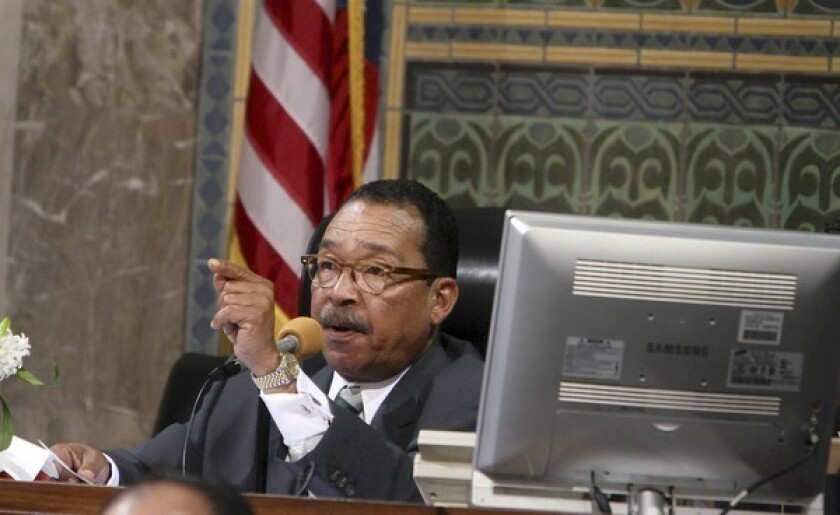 """Los Angeles City Council President Herb Wesson says: """"We've cut just about everything that we can cut."""""""