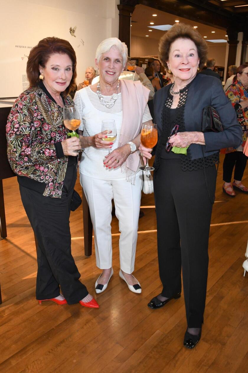 Patty Rome, Susan Ulevitch, Linda Blair
