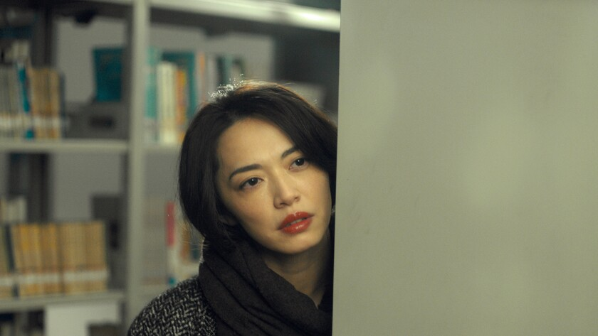 "Yao Chen in the movie ""Send Me to the Clouds."""
