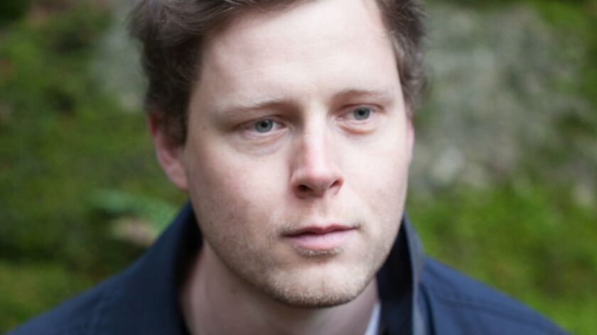 """Max Porter, author of """"Grief Is the Thing With Feathers"""". Graywolf: 128 pp., $14 paper"""