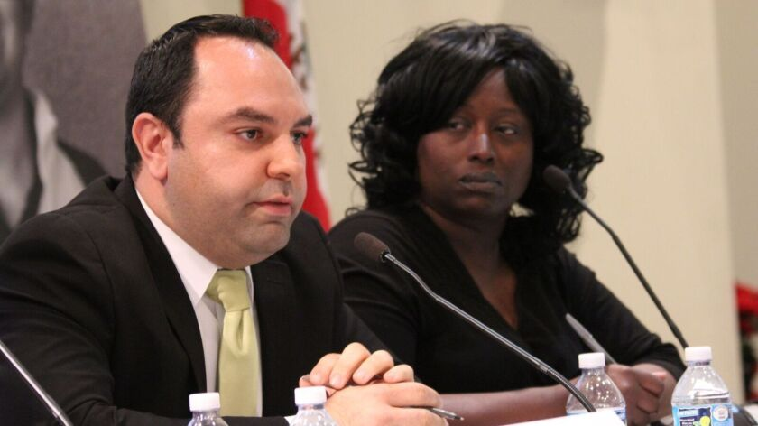 Araz Parseghian and Gwendolyn Posey are running for the L.A. Board of Education in District 6 without backing from either the teachers union or charter-school groups.