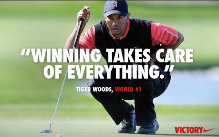 417ded908e744 Nike's Tiger Woods ad criticized by some for controversial slogan ...