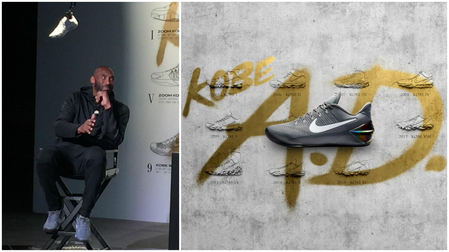 menor Construir sobre diferente a  From Adidas to Nike, Kobe Bryant changed the sneaker world - Los Angeles  Times