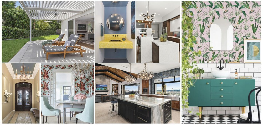 Jackson Design & Remodeling says 2021 interior design trends will emphasize happy colors and a connection to the outdoors.
