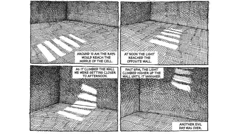 "A panel from Mana Neyestani's ""An Iranian Metamorphosis"""