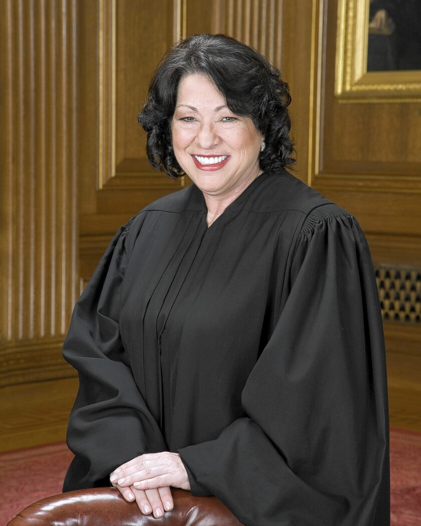 """Justice Sonia Sotomayor said the nation """"witnesses more than a million acts of domestic violence, and hundreds of deaths from domestic violence, each year."""""""