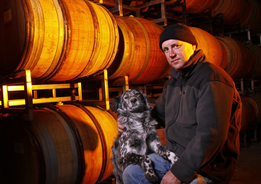 Neil Collins, executive winemaker and vineyard manager of Tablas Creek Vineyards on the Central Coast.