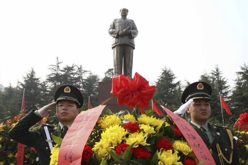 China marks Mao's 120th birthday; tension over his legacy lingers