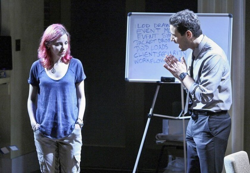 "Laura Heisler and Peter Katona star in the indie-spirited drama ""Build."""