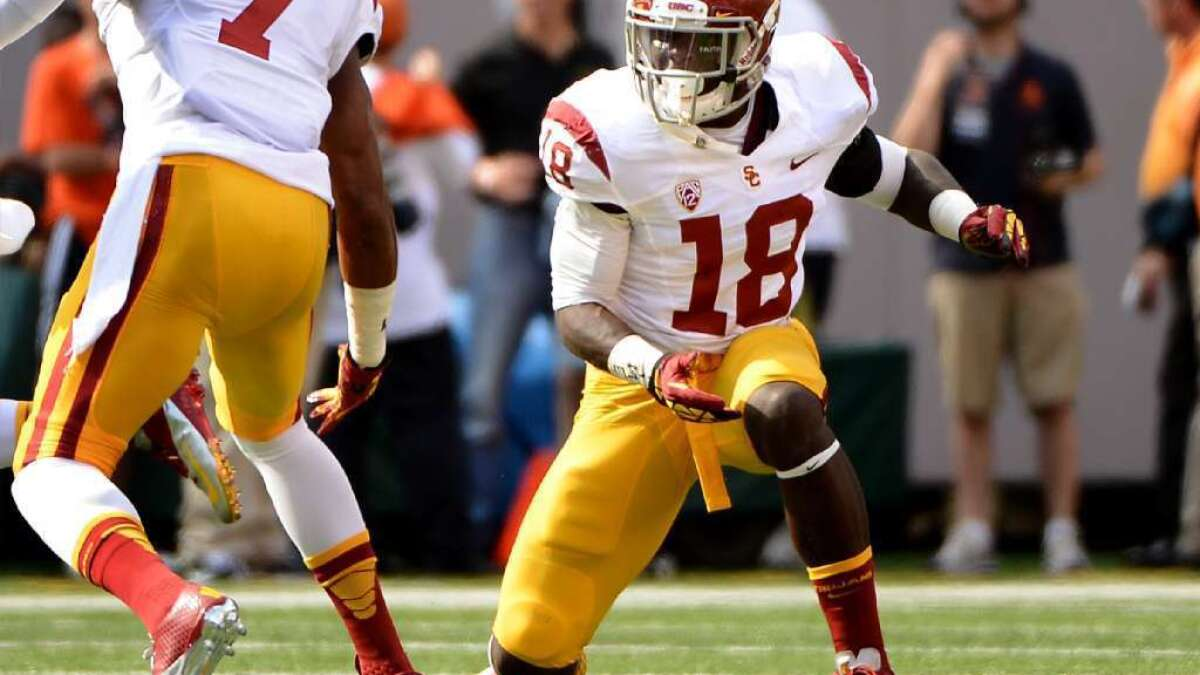 USC football: Dion Bailey to make himself available for NFL draft ...