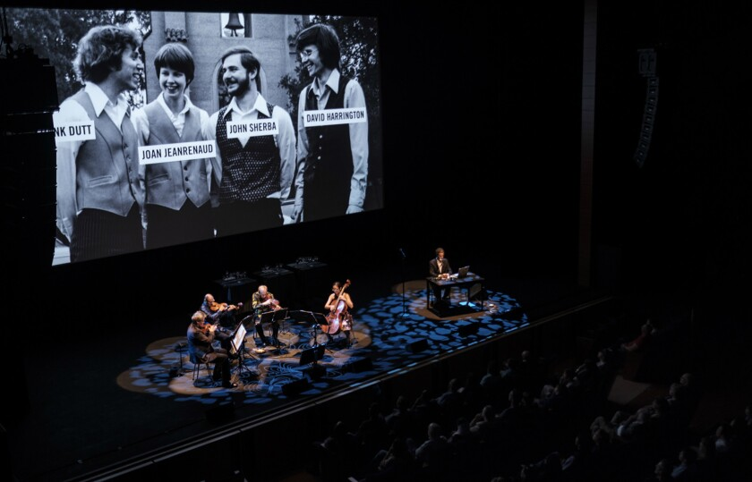 Kronos Quartet A Thousand Thoughts: A Live Documentary