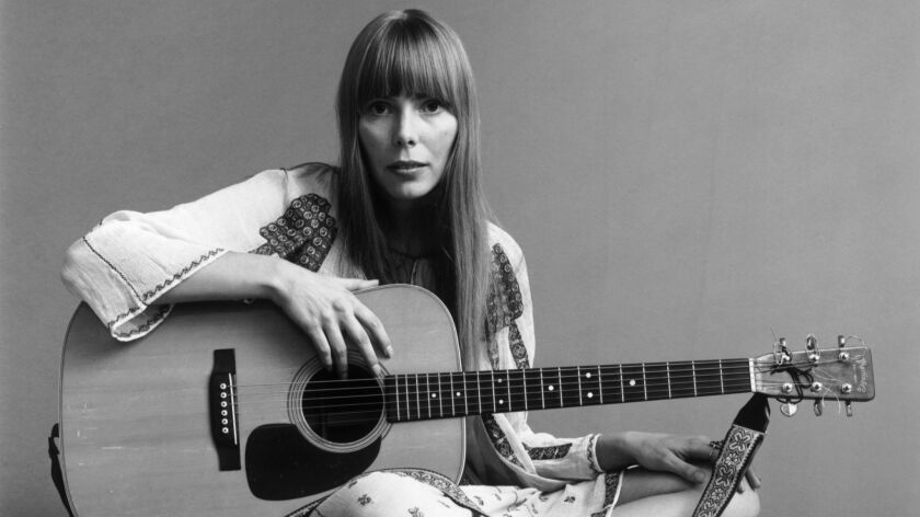 Joni Mitchell in November 1968, taken from a shoot for Vogue magazine.