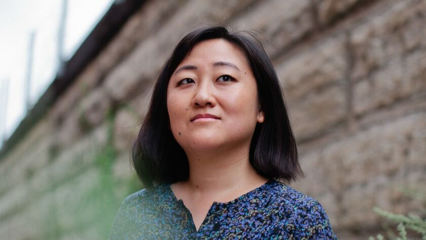 Author Ling Ma photographed in Chicago, IL.