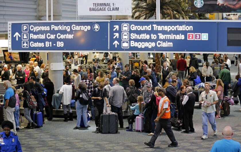 Baggage claim area of Terminal 1 at Fort Lauderdale-Hollywood International Airport on Jan. 7, 2017 the day after five people were fatally shot at the airport.