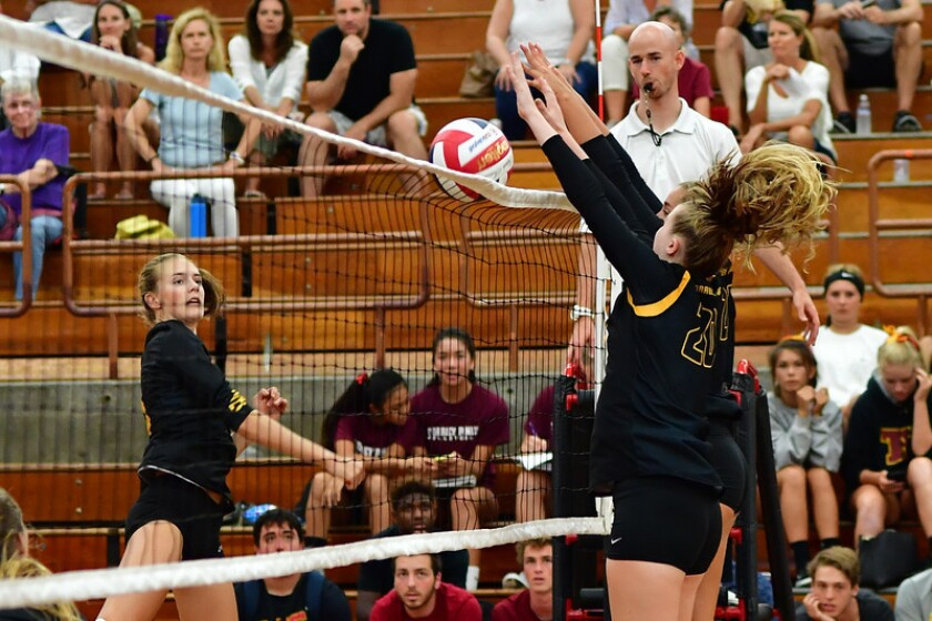 Torrey Pines defeated Point Loma 3-1 (25-21, 21-25, 25-16, 25-12) in a nonleague match on Sept. 7.