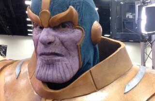 Cinema Makeup School Demo: Thanos