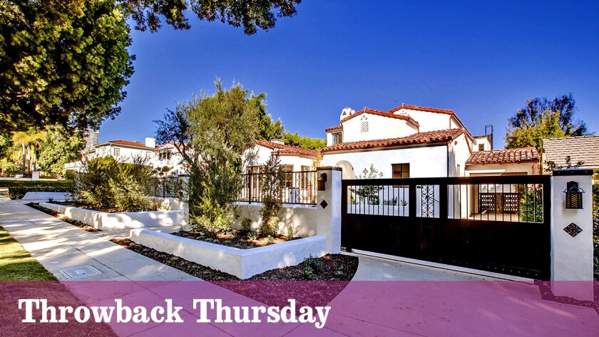 The Spanish Colonial villa in Beverly Hills belonged to actress Mitzi Gaynor for decades.