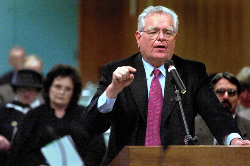 Former Supt. Roy Romer, a three-term governor of Colorado, said heading L.A. Unified was the most difficult job he ever had.