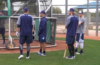 Padres kick off Spring Training as pitchers and catchers report